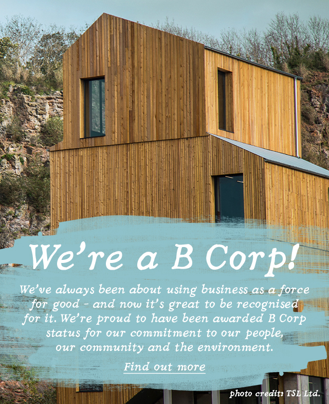We're a B Corp!
