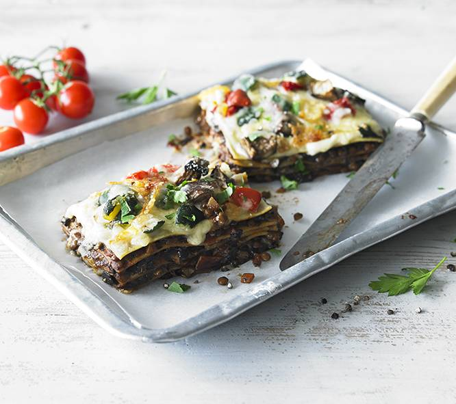 Vegetable Lasagne (for one)