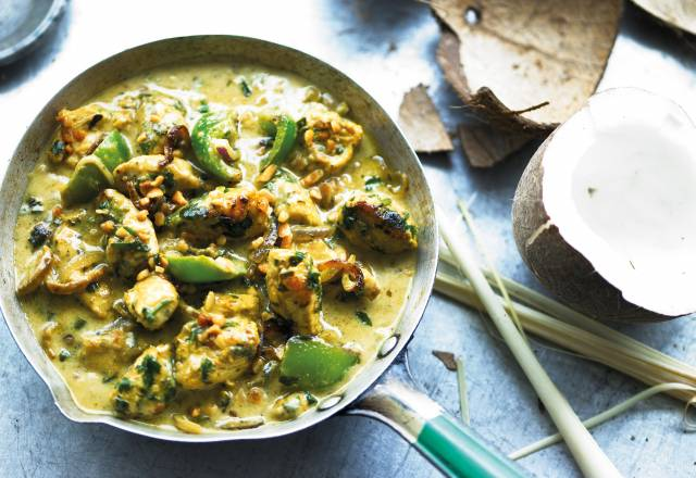Thai Green Chicken Curry & Fragrant Rice